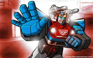 Autobot Smokescreen by timshinn73