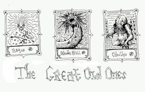 The Great Old Ones tokens by Paha24