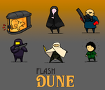 Flash Dune Characters by Norsehound