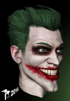 JokerHeadStudy by muttleymark