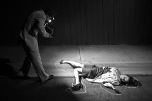 1950's Crime Scene Shoot by spselfr