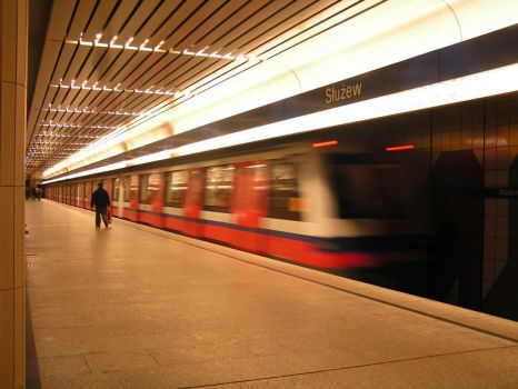 Warsaw subway by brego