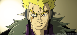 Laxus Colored by bryanaldrin