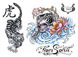 Tiger Spirit by evilorchid