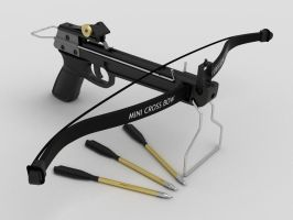 Hand Crossbow by TeoNikif