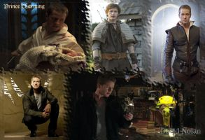 Prince Charming And David Nolan Wallpaper by callyrose