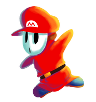 Mario guy by Crazy-tim