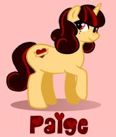My Little Pony Paige by OhSadface