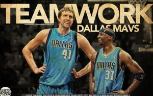 Dallas Mavs Teamwork Wallpaper by Angelmaker666