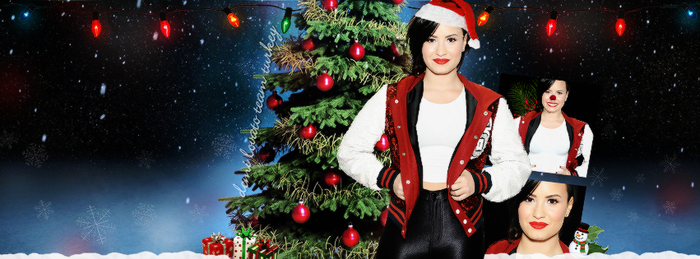 +Demi Lovato Facebook Cover by GayeBieber94