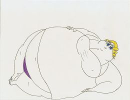 COM Obese Catherine by Robot001