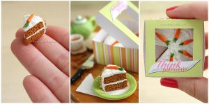 Carrot Cake - Close ups by thinkpastel
