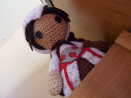 Assasin's Creed Amigurumi: Ezio Auditore by Ulvkatt