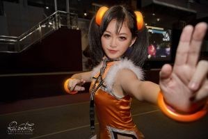 Tekken Tag Tournament 2 - Xiao Yu (Hobbycon Day 2) by Kuromew