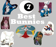 The Seven Best Bunnies by Cybertoy00