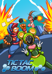 Tic Tac Boom Cover Art/Poster by Twinhound