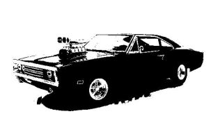 1969 dodge charger with hemi by scottytucks