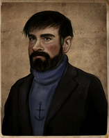 Captain Haddock by sikuriina