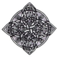Celtic Square Round Knot by ppunker