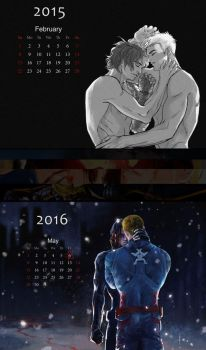 Calendar for stucky by WuLiao-Yuzi