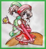 Card Captor Sakura by Midnight--Rainbow