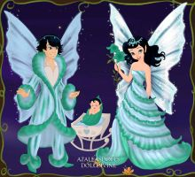 Royal Fairy Family by WhisperingWindxx