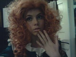 Merida Make-up + Wig Test by Distorted-Echo