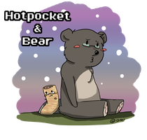 Hotpocket and Bear by DJHyena12