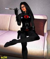 The Baroness Takes A Break by The-Mind-Controller