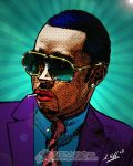 P. Diddy.. Pop Art by arihoff