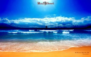 Red Ghost Poster II [ver. 2.0] by Steamland