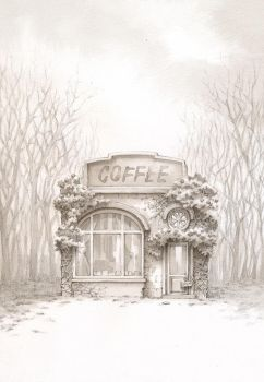 MYSTERIES OF THE NAMELESS COFFEE SHOP by yoopeeup