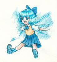 [Touhou] Ice2x Baby by Men-dont-scream