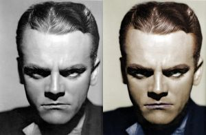James Cagney - before after by B-D-I