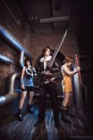 Final Fantasy VIII: ready for a fight by ErikDesler