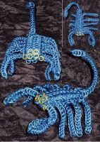 Chainmaille Scorpion by ChaynLynx