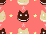 Steven Universe Cookie Cat Background 1 by Hi-How-Are-You