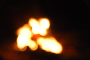 Fire Light  bokeh  STOCK 11 by Theshelfs