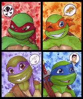 TMNT 2K12 by KeyshaKitty