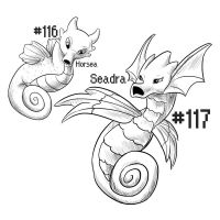 PKMN-A-DAY: Seahorses by the-b3ing