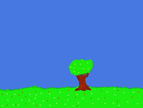 A Simple Tree by VenomSnakes123