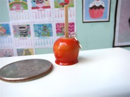 Candy Apple Charm by LittleSweetDreams
