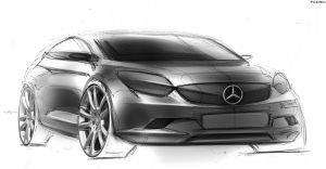 Mercedes Benz Sketch by FCD94