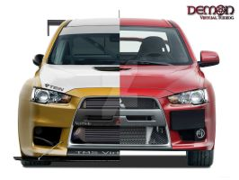 Jekel and Hyde Evo lancer by TMSVirtualTuning