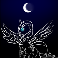 Luna's Full Moon by Pinkie321Pie