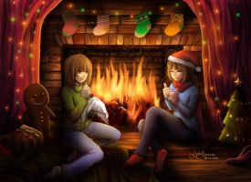 Christmas by lydia kencana by dottypurrs