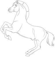 Free to use line art by goats