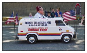 Shriner on the move.L1030286, with story by harrietsfriend