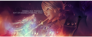 Final Fantasy XIII Vanille Sig by Mercuphoria