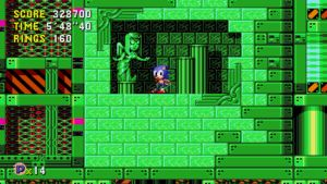 Sonic CD Remastered - How long was this here? by RazorVolare